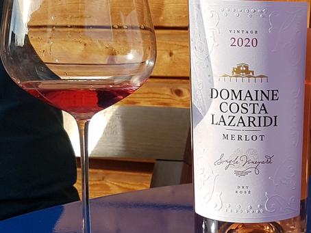 Merlot Rosé 2020 von Domaine Costa Lazaridi
