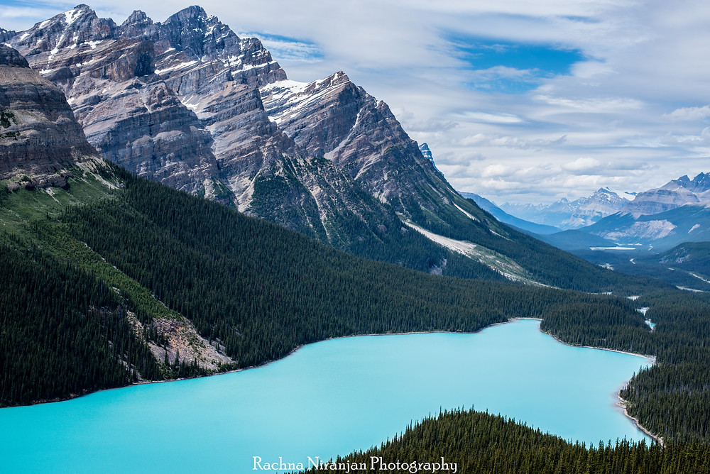 Peyto Lake in all its glory