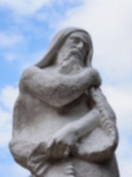 Statue of the ancient Greek hero Odysseu