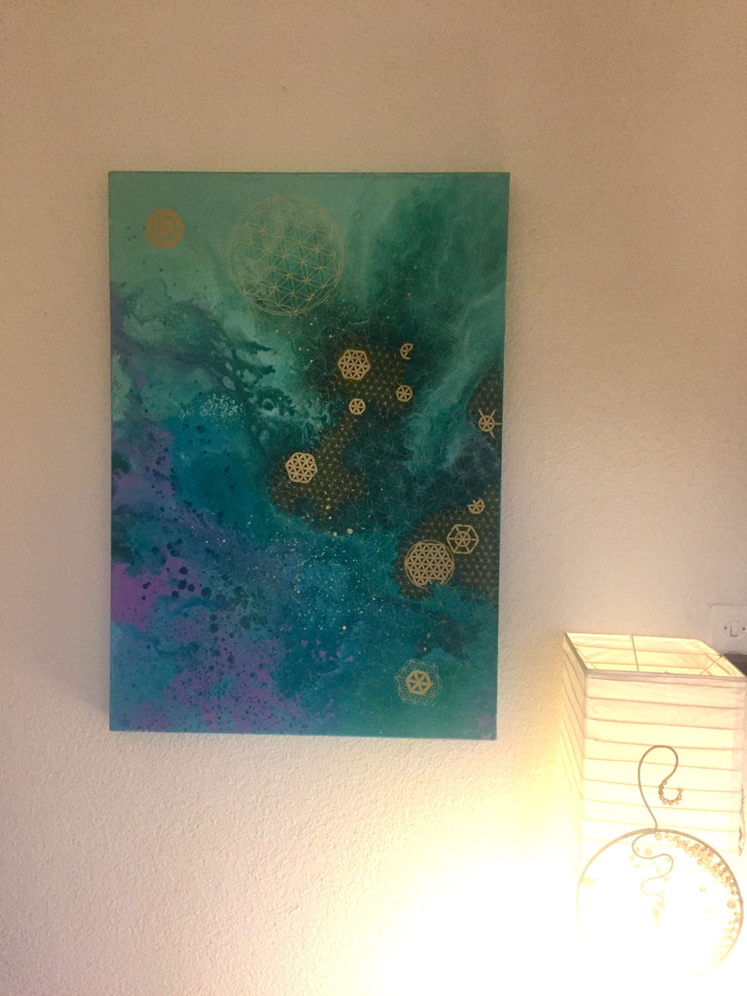 Flower of life - 700 CHF - SOLD