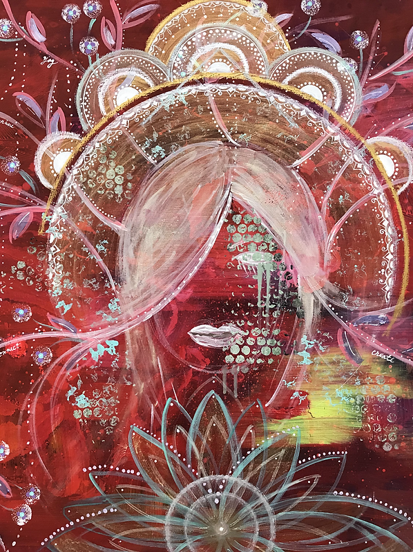 Into her dream - SOLD