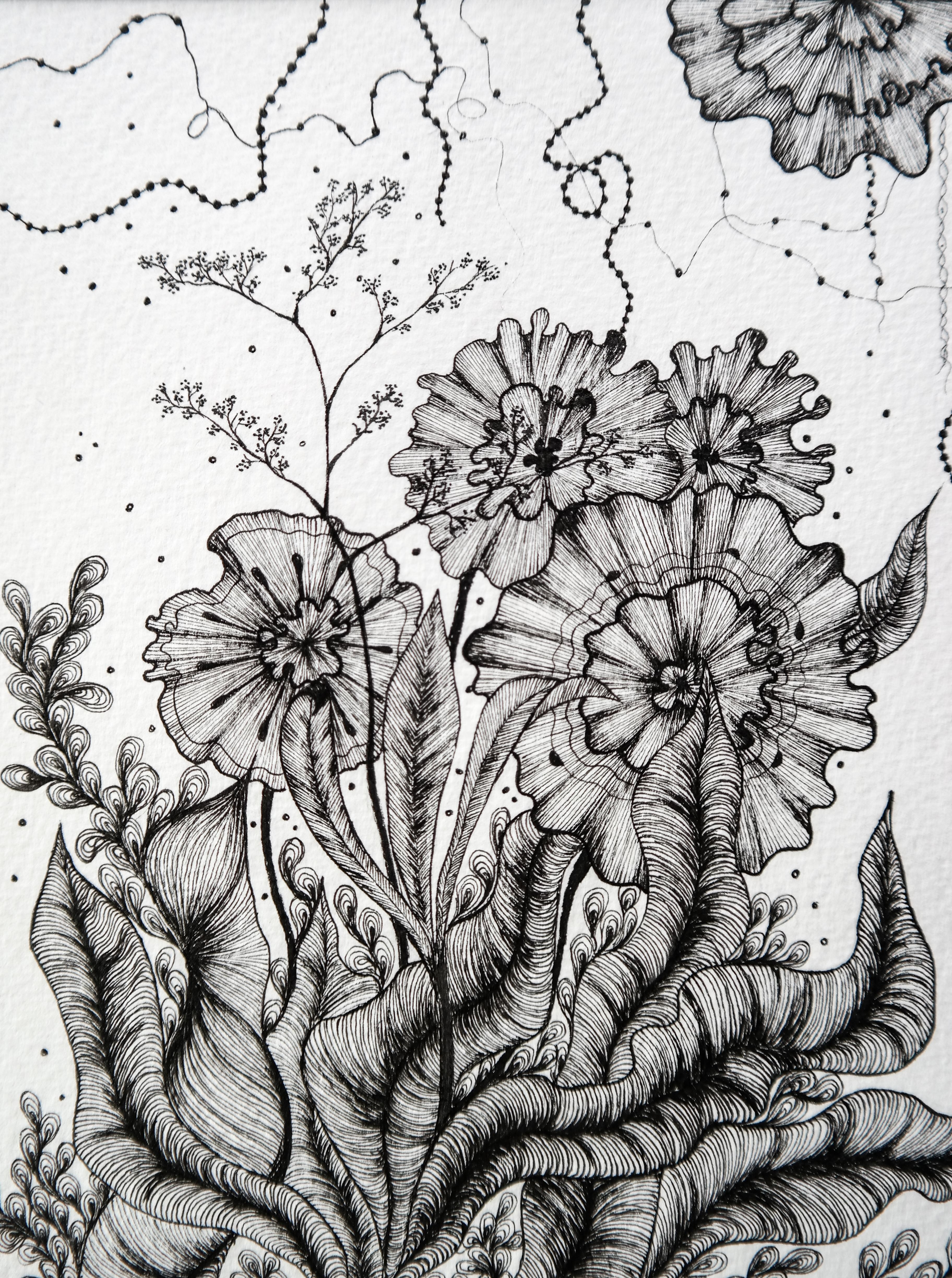 Flower bouquet IV - 150CHF