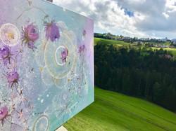 Painting in the nature - Rehetobel