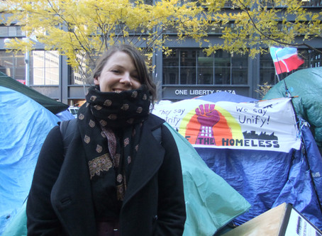 Trying to see history unfold: Occupy Wall Street