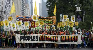 People's Climate March..A positive highlight of 2014