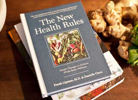 "Book review: ""The New Health Rules"" By Frank Lipman, M.D. & Danielle Claro (part 1-Eating)"