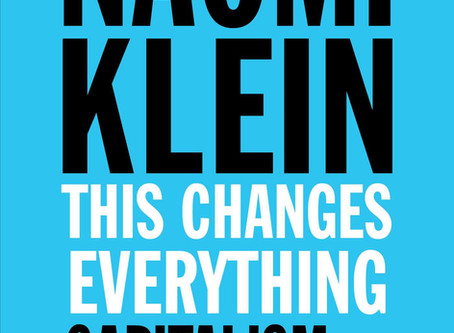 "Book review: ""This Changes Everything: Capitalism vs. the Climate"" by Naomi Klein"