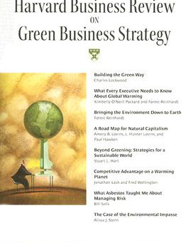 HBR on Green Business Strategy