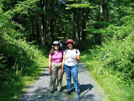 Celebrating National Trails day in Delaware Water Gap