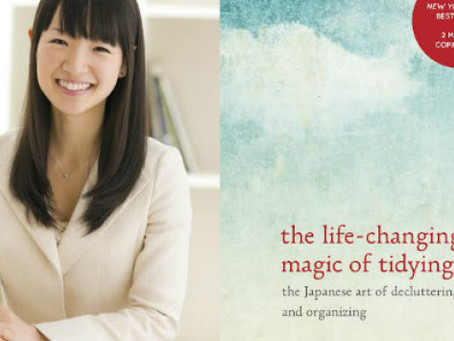 Book review- The life changing magic of tidying up