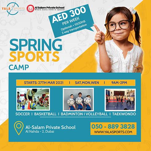 Al Salam Private School - Sports Spring Camp