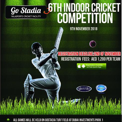 6th Cricket Championship - 9th Nov 2018