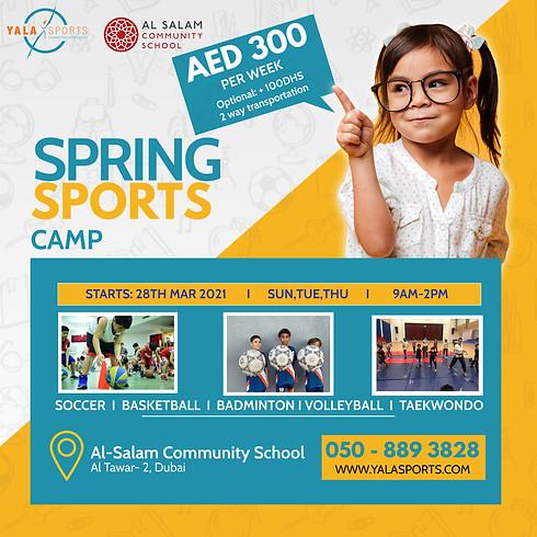 Al Salam Community School - Sports Spring Camp