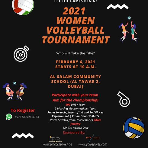 Women Volletball Tournament - 6th Feb 2021