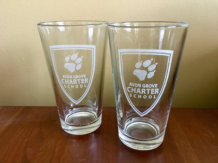 Avon Grove Charter Pint Glass
