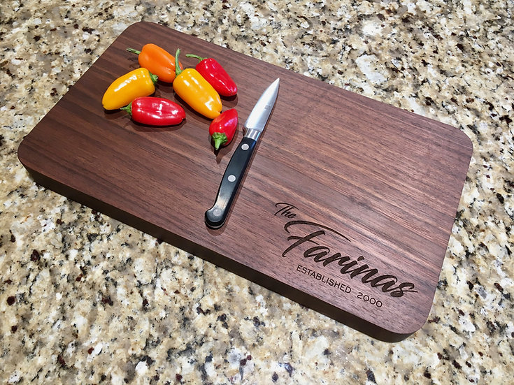 Name & Date Serving/Cutting Board
