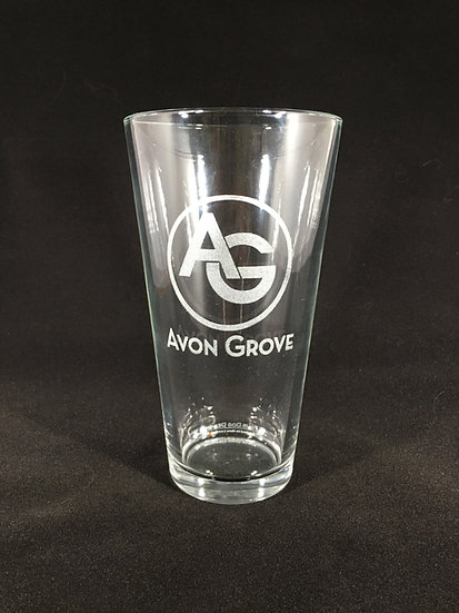 Avon Grove High School Pint Glasses