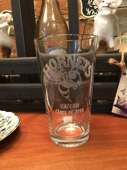 Oxford High School Pint Glasses
