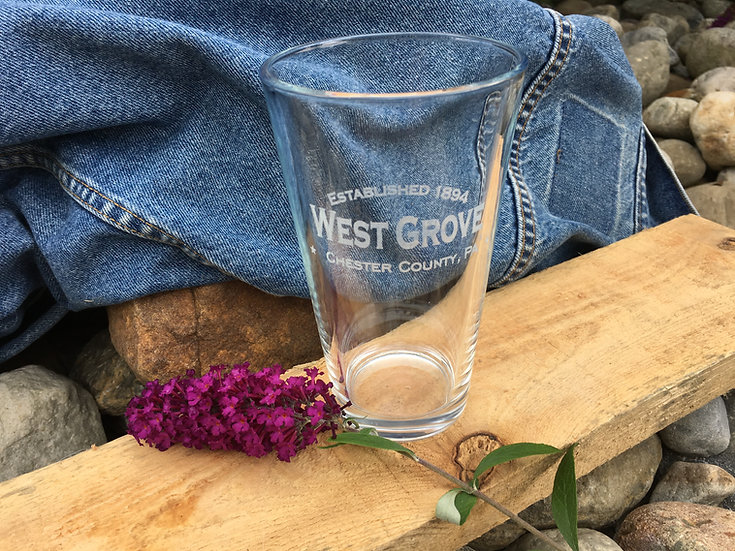 West Grove Pint Glasses