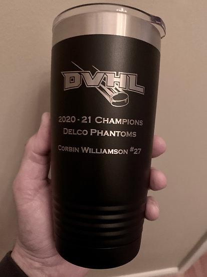 DVHL Championship Tumbler