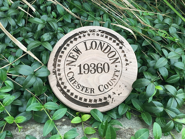 Town Plaques - Small