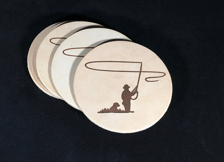 Fly Fishing Coasters