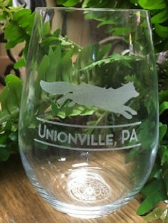 laser engraved stemless wine glasses