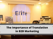 The Importance of Translation in B2B Marketing