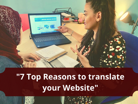 7 Top Reasons to translate your Website