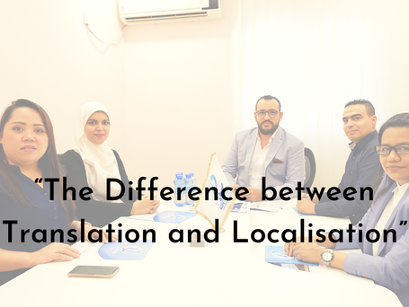 The Difference Between Translation and Localisation