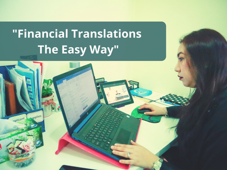 Financial Translations the Easy Way
