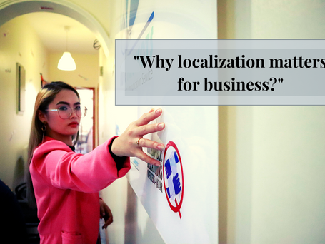 Why localization matters for your business