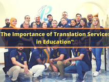 The Importance of Translation Services in Education