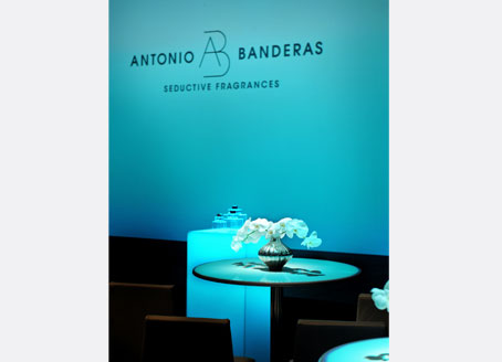 Antonio Banderas Fragrance Launch