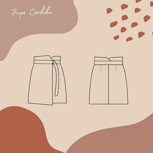 Patron pochette de la jupe Cordoba