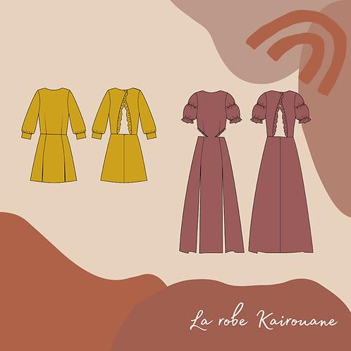 Patron PDF de la robe Kairouane
