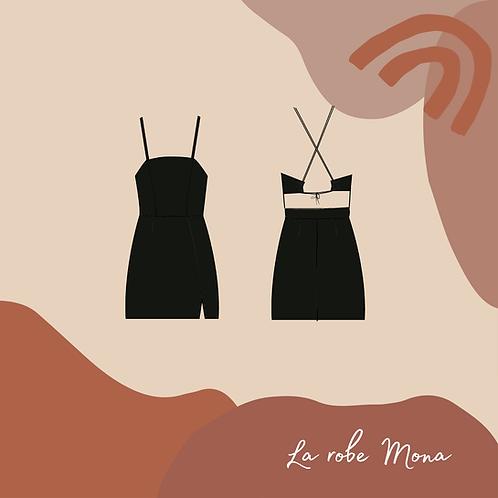 Patron PDF de la robe Mona