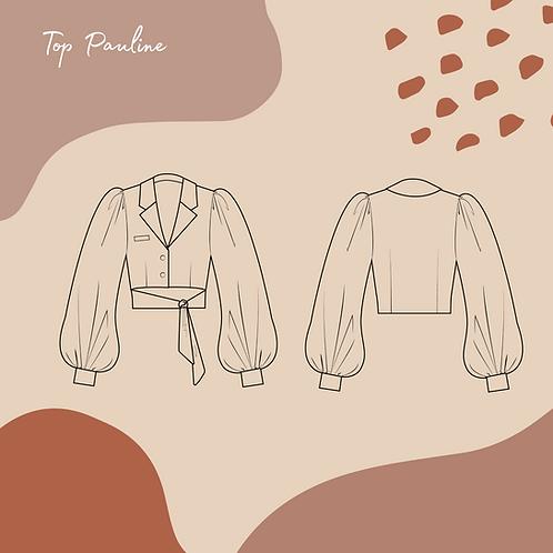 Patron PDF de la blouse Pauline