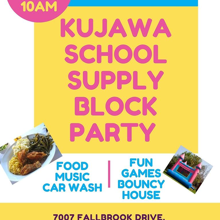 Kujawa School Supply Block Party