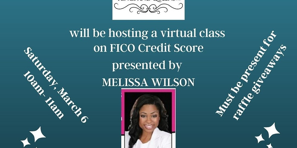 FICO Credit Score Zoom Class with Melissa Wilson
