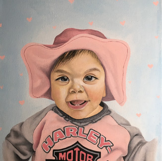 "Baby Juniper, Acrylic on canvas (11"" x 14""), 5/10/2020"