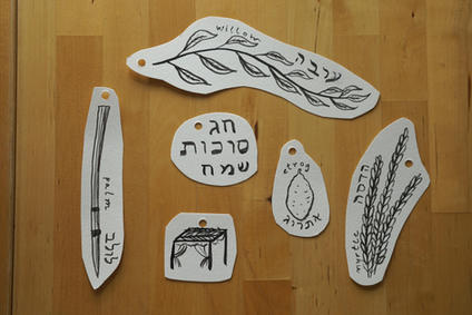 Sukkah Garland Illustrations