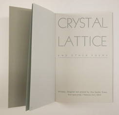 Crystal Lattice And Other Poems