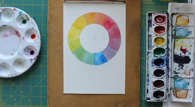G-d's Paintbrush Color Wheel