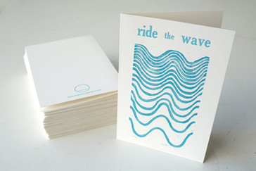 Ride the Wave card