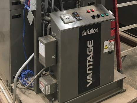 V-Systems Provides Fulton Vantage Boilers to Local Hospital