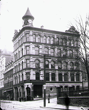 T. Eaton Building on Barrington and Prince St.