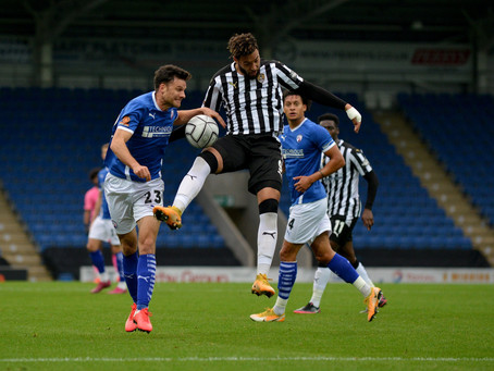 LIVE: Notts County v Chesterfield as it happens