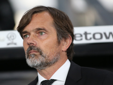 Derby County part company with head coach Cocu