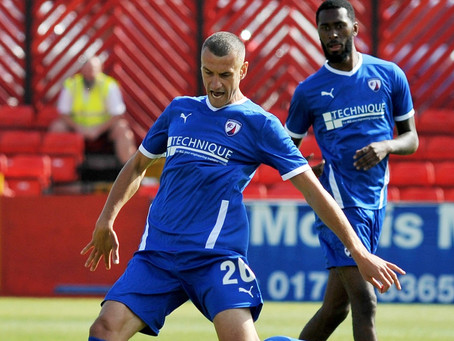 Spireites on the spot again to win Trophy tie